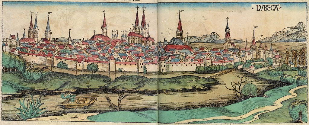 Lübeck in 1493