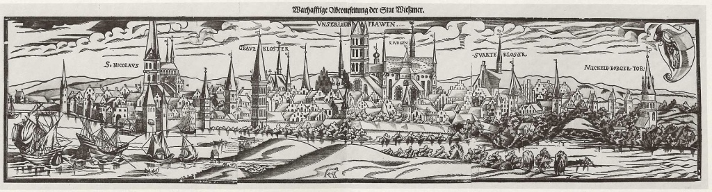 Wismar in the late 1600s