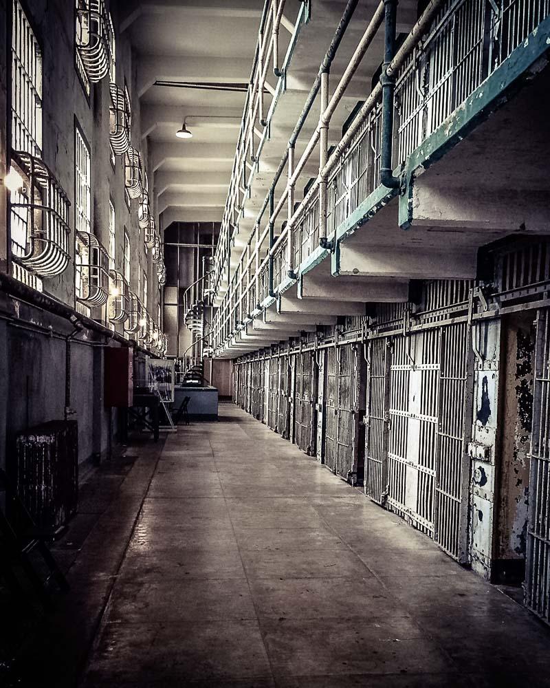 Alcatraz Cell Block A